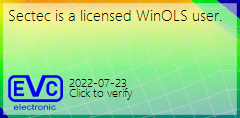 Sectec is a licensed WinOLS user