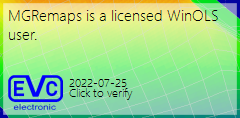 MGREMAPS ıs a licensed WinOLS user.